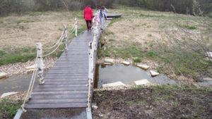 Прогулочная зона в Векшино